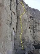 Rock Climbing Photo: TGI topo