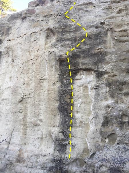 Rock Climbing Photo: PP topo