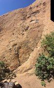 Rock Climbing Photo: the base of cracker jack,