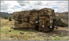 Rock Climbing Photo: 2. We the Living.