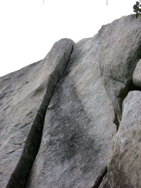 Rock Climbing Photo: Looking up from the base