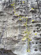 Rock Climbing Photo: I topo