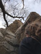 Rock Climbing Photo: Goth Girls