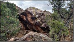 Rock Climbing Photo: Creative Faller.