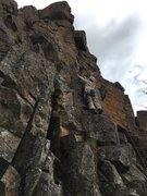 Rock Climbing Photo: Alicia on The Shuttler