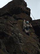 Rock Climbing Photo: Reeeeaaach!