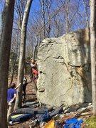 Rock Climbing Photo: Tombstone Arete
