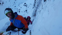 Rock Climbing Photo: Checking out the old ass anchor at the top of the ...