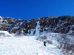 Rock Climbing Photo: Tim headed up to Dr. Wielands Wild Eye.