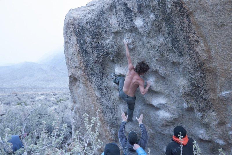 Evening climb