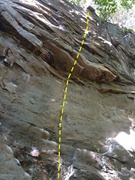 Rock Climbing Photo: The line.