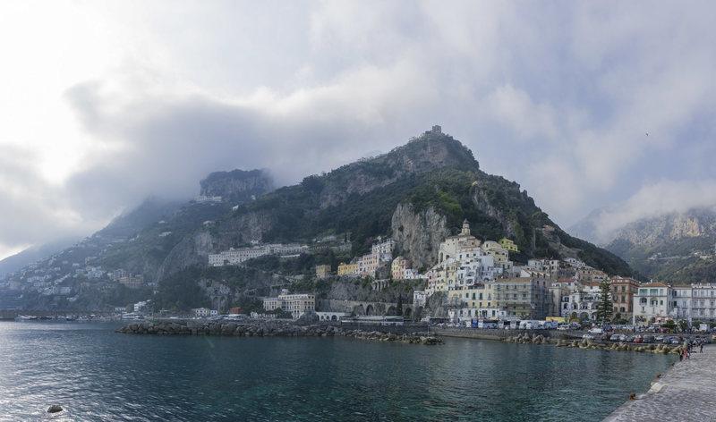 Rock Climbing Photo: Amalfi Town