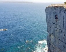 Rock Climbing Photo: Northern exposure at point perpendicular