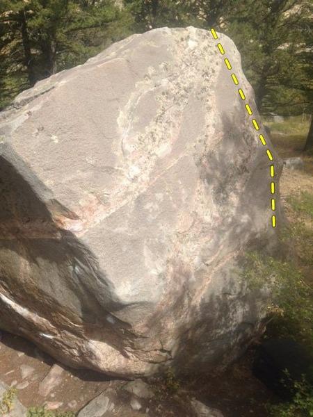 Rock Climbing Photo: Right of Tom's