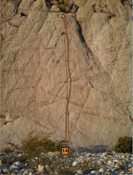 Rock Climbing Photo: El resplandor
