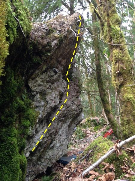 Rock Climbing Photo: Union Jack