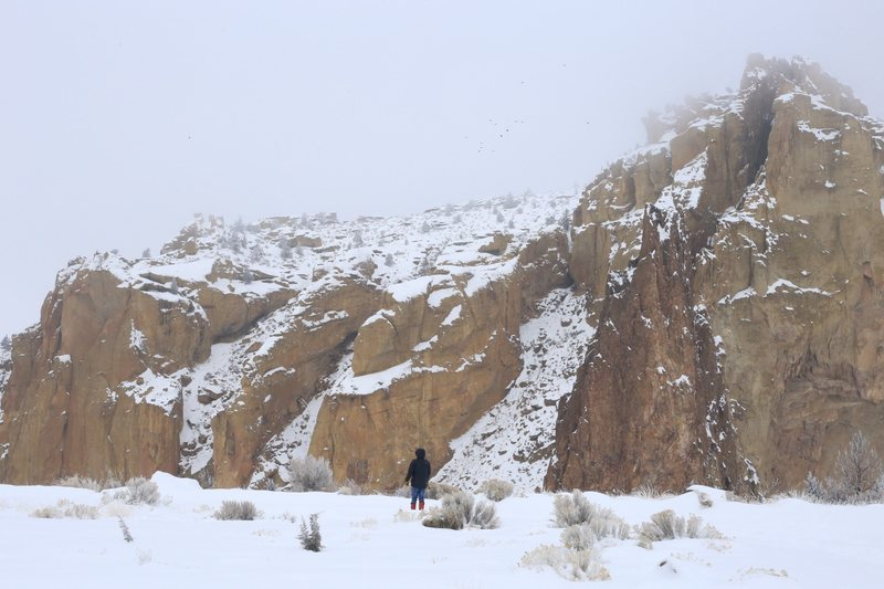 Smith Rock mid January.