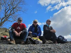 Rock Climbing Photo: with Bruce and Peter. Buttermere
