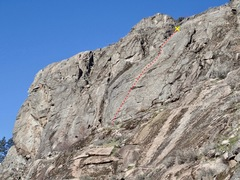 Rock Climbing Photo: Sheepish topo