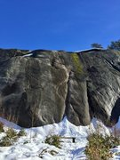 Rock Climbing Photo: Lots of snow, February 2017!