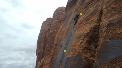 Rock Climbing Photo: Big sky mud flaps