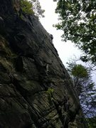 Rock Climbing Photo: A decent 1st lead with plenty of pro if you stay r...