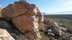 Rock Climbing Photo: The Africa Boulder