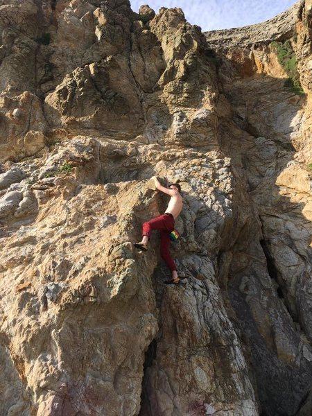 Rock Climbing Photo: Cali.