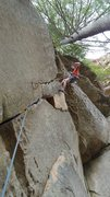 Rock Climbing Photo: Slice of Spice, Fruit Wall, MFRP. Only needs 4 cam...