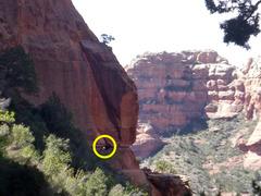 Rock Climbing Photo: Rare glimpse of the Nirvana approach tunnel (vorte...