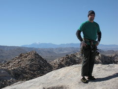 Rock Climbing Photo: Summit of South Astro Dome