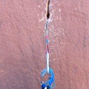 Rock Climbing Photo: Desert Shield Headwall