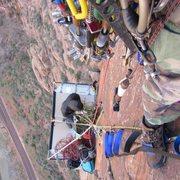 Rock Climbing Photo: DS belay