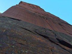 Rock Climbing Photo: DS headwall