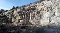 Rock Climbing Photo: Quarry.