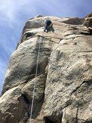 Rock Climbing Photo: TR attempt