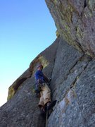 Rock Climbing Photo: Assembly Line, Devils Tower, WY