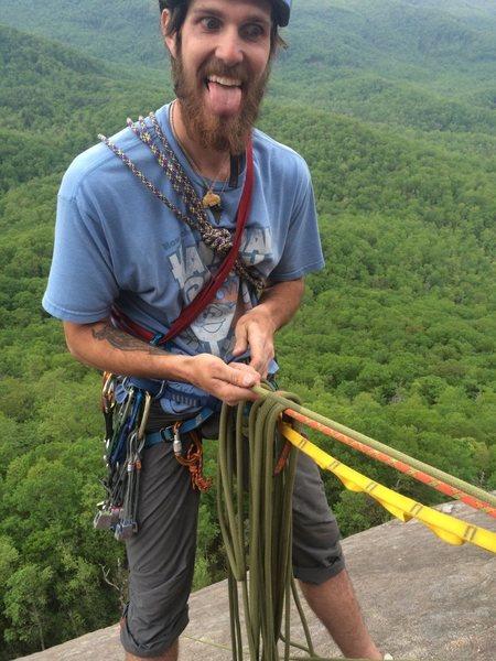 Rock Climbing Photo: Sundial crack in May