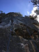 Rock Climbing Photo: This route is awesome