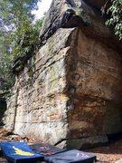 Rock Climbing Photo: The beautiful arete, Colorful Corner.