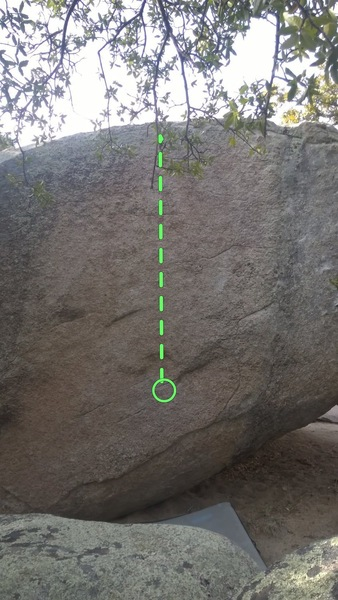 Rock Climbing Photo: Run and Jump onto a foothold mid heigh. A variatio...
