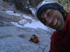 Rock Climbing Photo: Mikel!!!