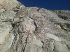 Rock Climbing Photo: Dave's Deviation