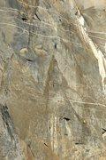 Rock Climbing Photo: Black Tower pitch 5 Zodiac