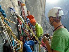 Rock Climbing Photo: Cluster Bivi