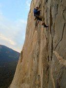 Rock Climbing Photo: morning on zodiac