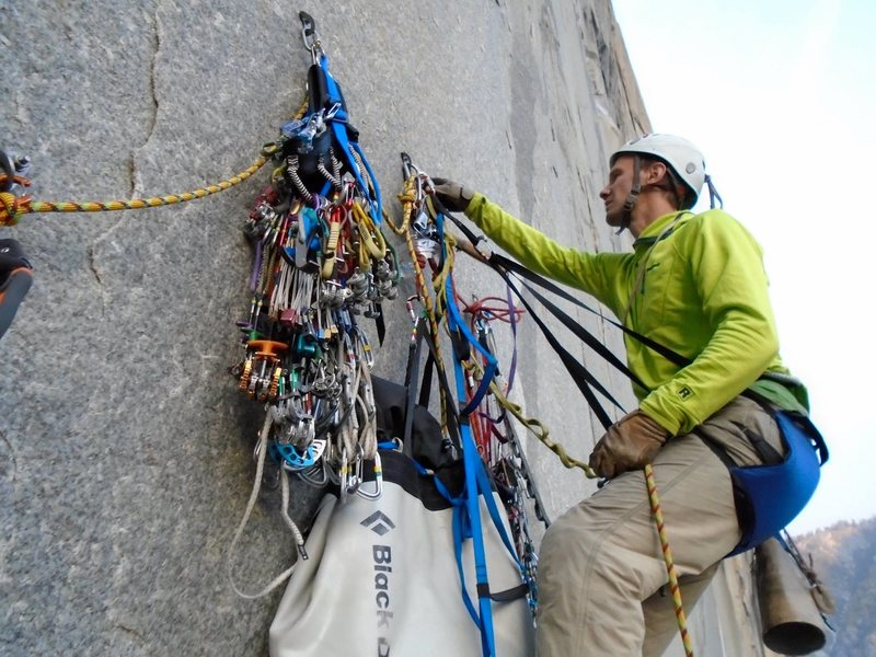 Flying Buttress belay