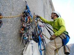 Rock Climbing Photo: Flying Buttress belay