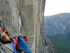 Rock Climbing Photo: Zodiac Bivi pitch 6