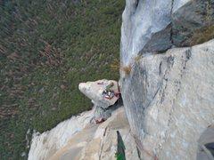 Rock Climbing Photo: El Cap Spire/Salathe Wall